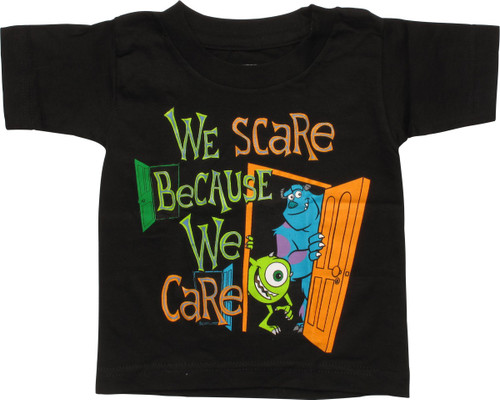 53629ffc Monsters University We Scare We Care Toddler Shirt