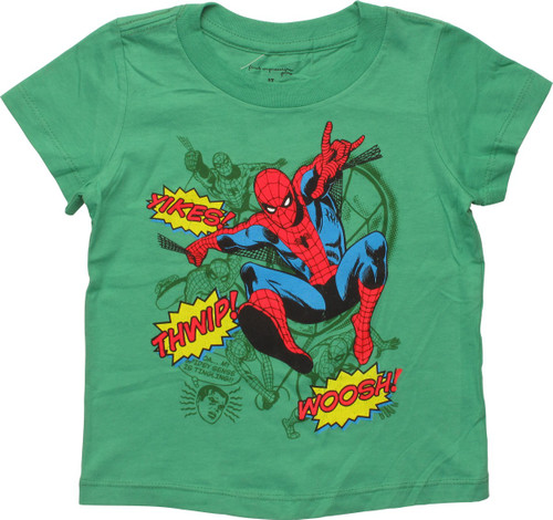 Spiderman Sound Effects Toddler T-Shirt
