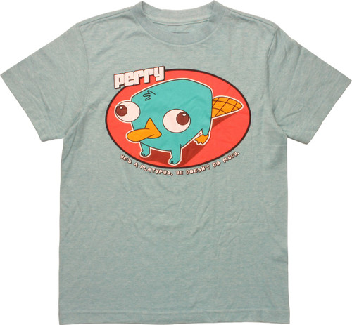 Phineas and Ferb Perry Platypus Youth T-Shirt