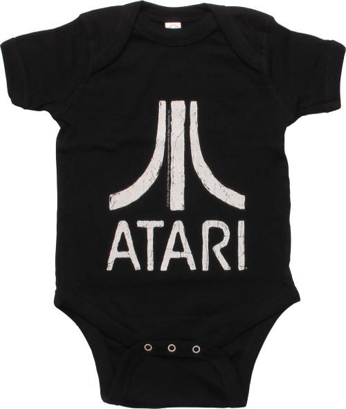 Atari Distressed Logo Snap Suit
