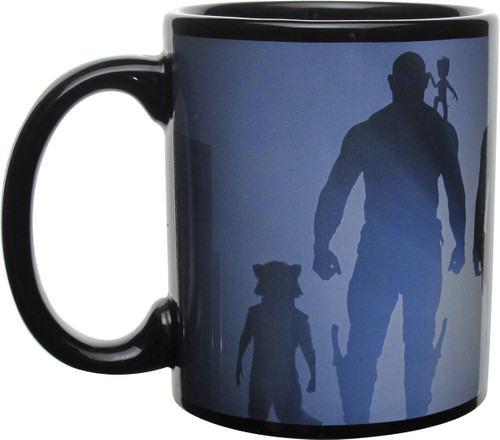 Guardians of the Galaxy Vol. 2 Silhouette Mug