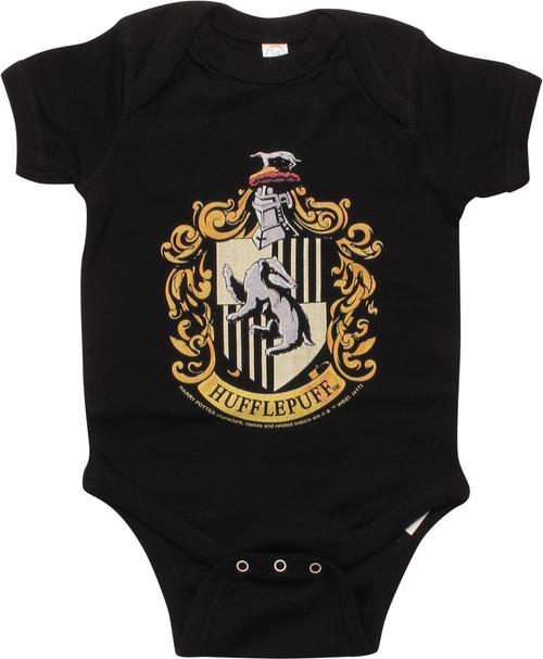 11d9d24d9f52 Harry Potter Hufflepuff Insignia Snap Suit