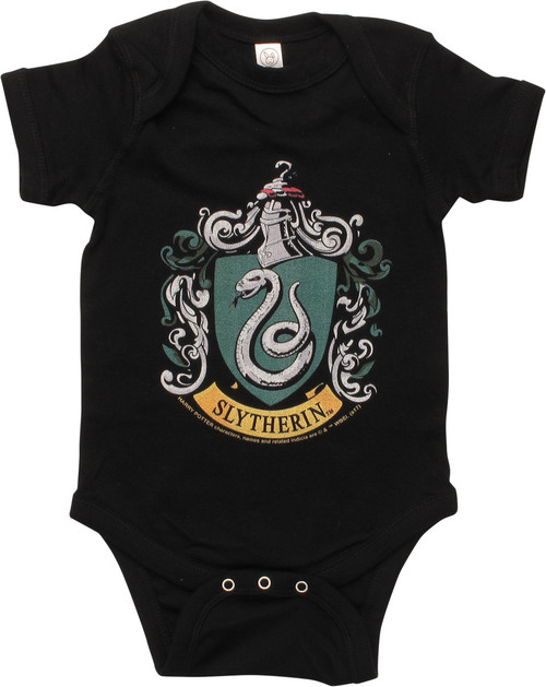 Harry Potter Slytherin Crest Snap Suit
