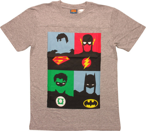 Justice League Andy Warhol Prints Youth T-Shirt