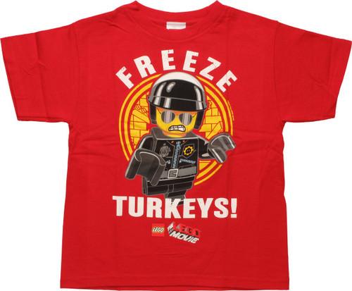 Lego Movie Freeze Turkeys Juvenile T-Shirt