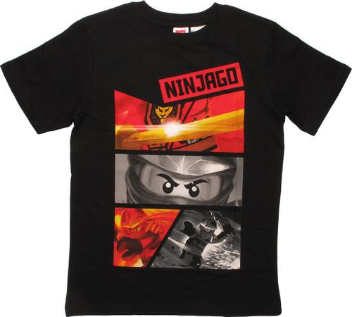 Lego Ninjago Panels Youth T-Shirt