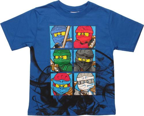 Lego Ninjago Up In Smoke Juvenile T-Shirt