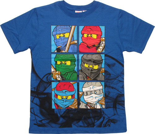 Lego Ninjago Up In Smoke Youth T-Shirt