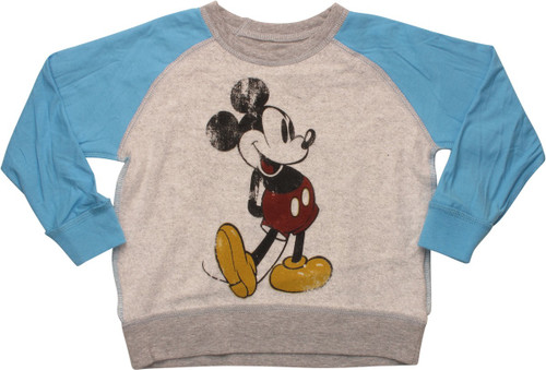 Mickey Mouse Inside Out Toddler Sweatshirt