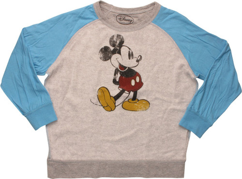 Mickey Mouse Pose Inside Out Juvenile Sweatshirt