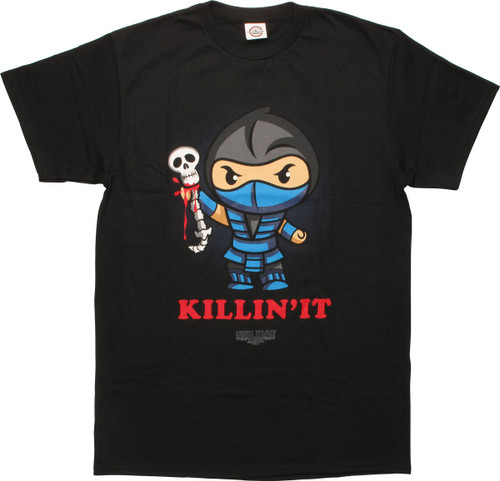 Mortal Kombat Sub Zero Killin It T-Shirt