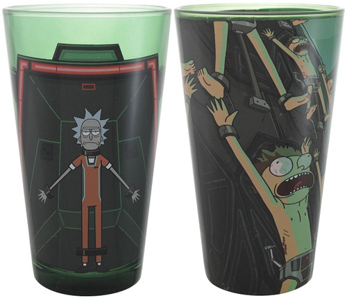 Rick and Morty Prison 2 Pint Glass Set