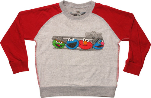 Sesame Street Faces Inside Out Toddler Sweatshirt