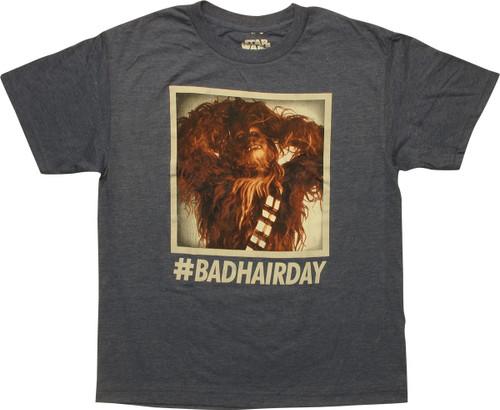 Star Wars Chewbacca Bad Hair Day Youth T-Shirt