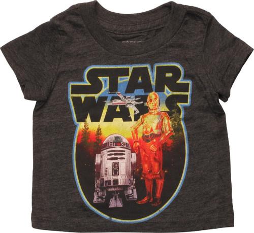 Star Wars Circled Droids Infant T-Shirt