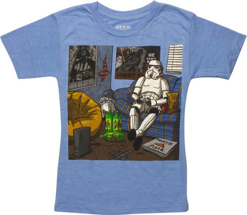Star Wars Stormtrooper Chillin Juvenile T-Shirt