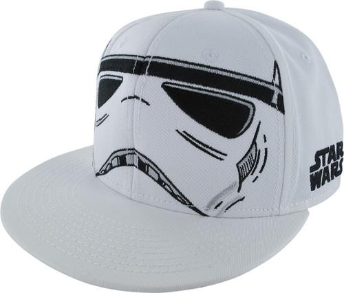 Star Wars Trooper Helmet Snapback Hat