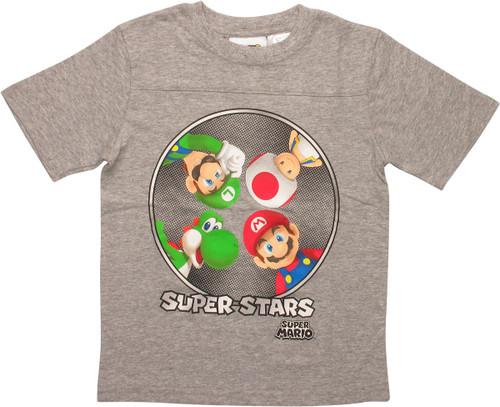 Super Mario Super Stars Juvenile T-Shirt