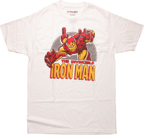 The Invincible Iron Man Attack T-Shirt