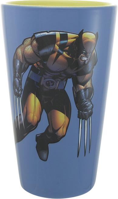 X Men Wolverine Ceramic Pint Glass