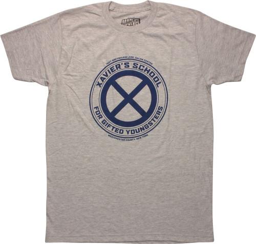 X Men Xaviers School Logo T-Shirt