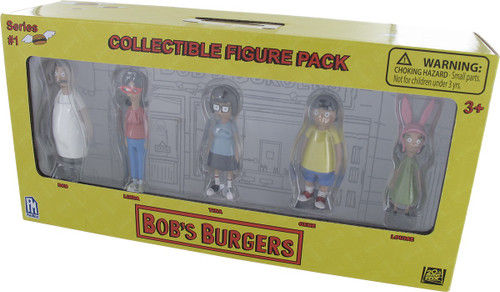 Bob's Burgers Collectible Family Figurine Pack