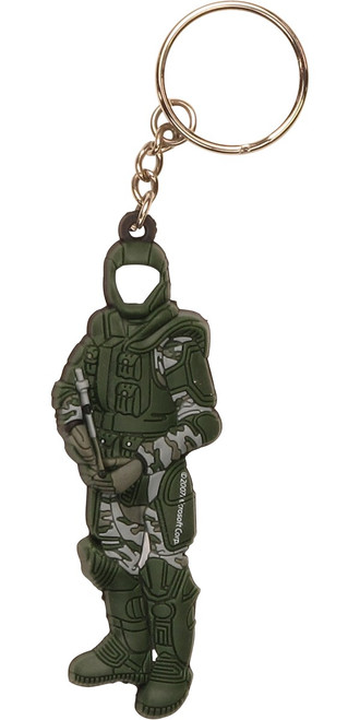 Halo 3 Spartan Soldier PVC Keychain