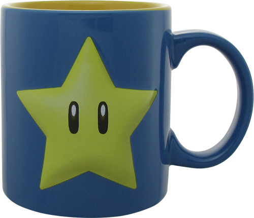 Mario Invincible Star Jumbo Mug