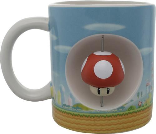 Super Mario Mushroom Spinner Jumbo Molded Mug