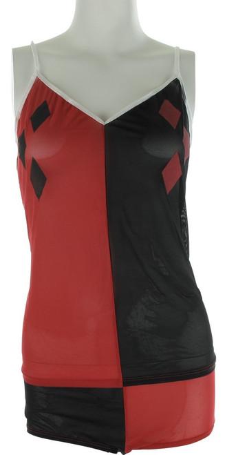 6c9aab8b659ae Harley Quinn Mesh Cami Panty Pajama Set