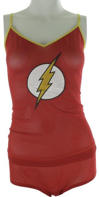 Flash Logo Mesh Cami Panty Pajama Set