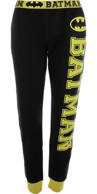 Batman Name French Terry Jogger Womens Pants