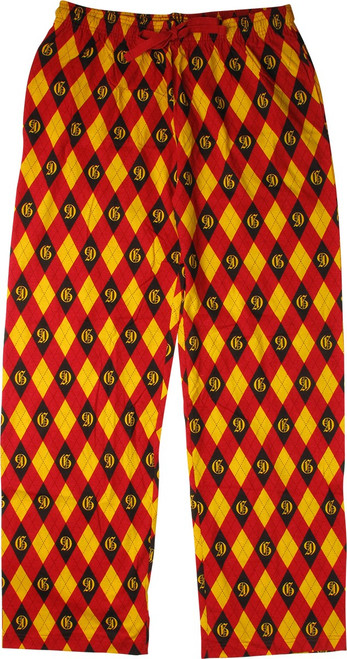 Harry Potter Gryffindor Argyle Lounge Pants