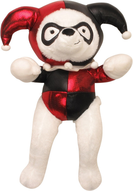 Harley Quinn White Bear Plush