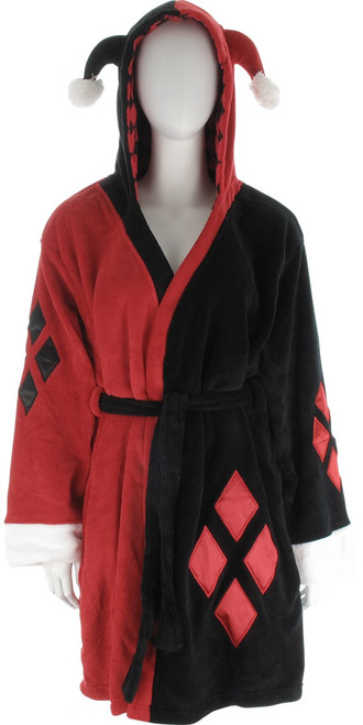 Harley Quinn Hooded Costume Robe