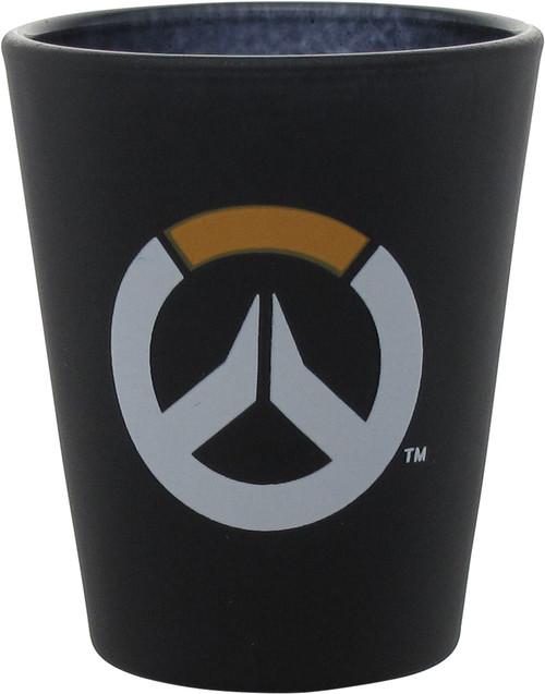 Overwatch Logo Matte Black Shot Glass