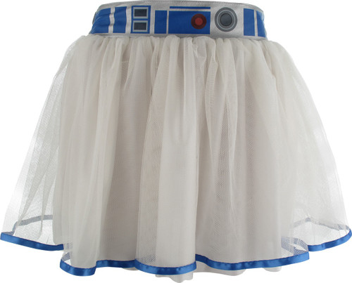 Star Wars R2-D2 White Tutu Skirt