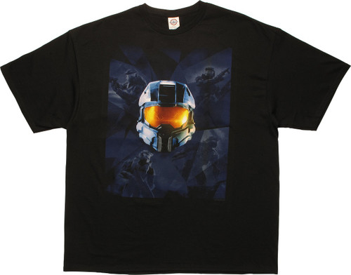 Halo Master Chief Collection XBox Box Art T-Shirt