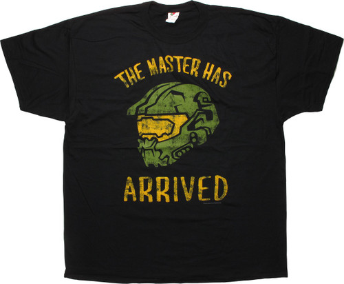 Halo The Master Has Arrived T-Shirt