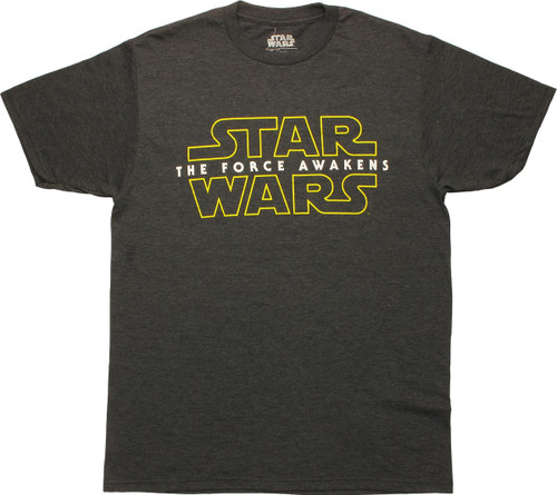 Star Wars The Force Awakens Logo T-Shirt