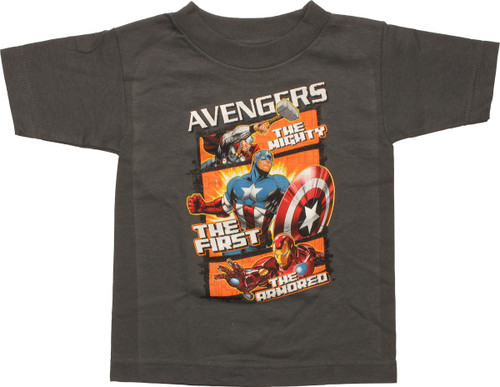 Avengers Mighty First Armored Toddler T-Shirt