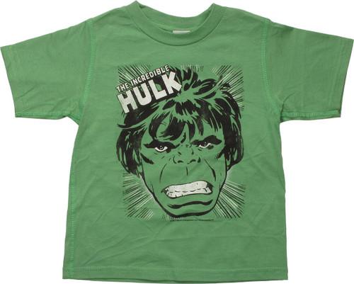 Incredible Hulk SMASH Reverse Toddler T-Shirt