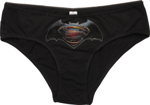 Batman v Superman Logo Ladies Plus Size Panty