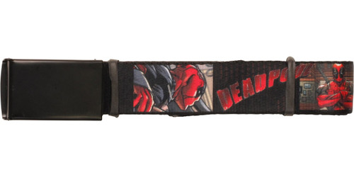 Deadpool Scenes with Name Mesh Belt
