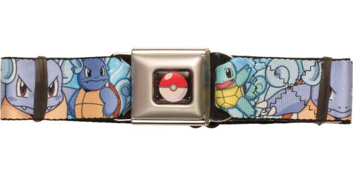 Pokemon Squirtle Evolution Seatbelt Belt