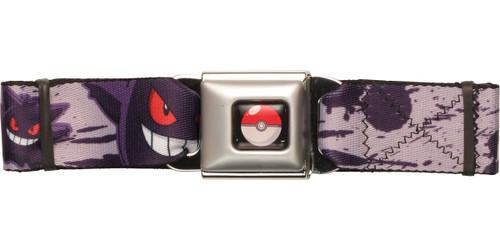 Pokemon Gengar 94 Seatbelt Belt