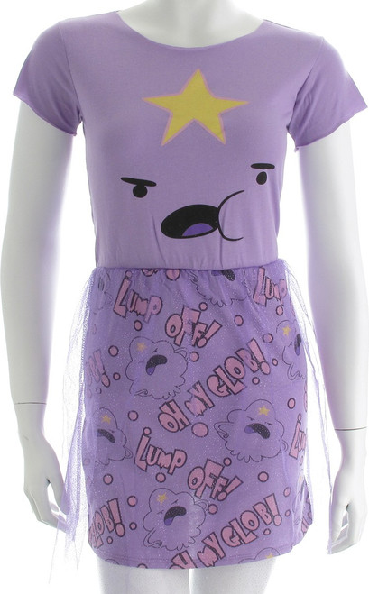 Adventure Time Lump Off Mighty Fine Dress