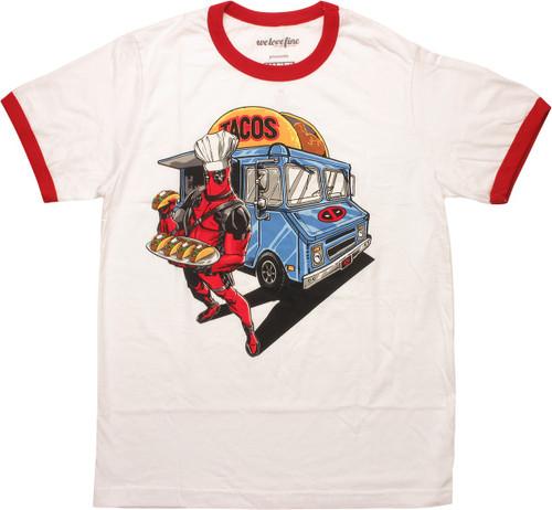 Deadpool Taco Truck Ringer T-Shirt