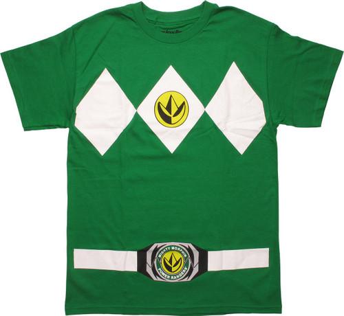 Power Rangers Green Dragonzord Costume MF T-Shirt