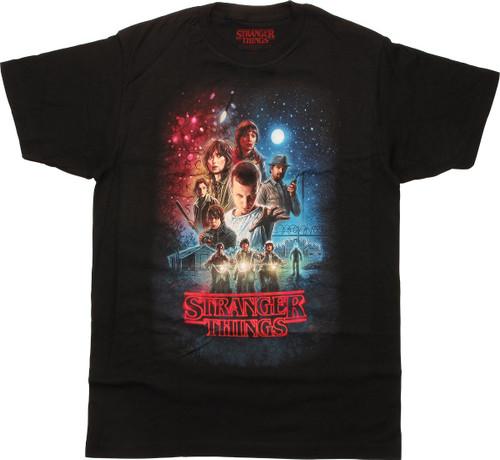 Stranger Things Poster T-Shirt